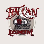 Tin Can Locomotive
